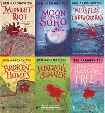 Ben Aaronovitch PETER GRANT / RIVERS OF LONDON Fantasy Series PAPERBACKS 1-6