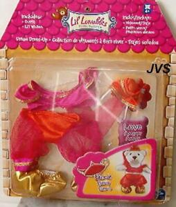 """Spin Master Lil' Luvables Fluffy Factory - Genie Outfit New Fits 6"""" tall Bears"""