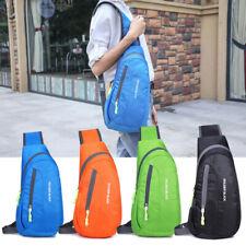 Schultertasche Herren Taschen Brusttasche Sling Bag Crossbody Sport Rucksack Bag