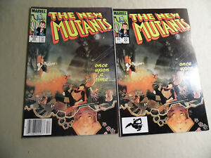 New Mutants #22 (Marvel 1984) Direct + Newsstand Variant / Free Domestic Ship