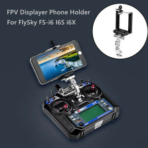 FPV Displayer Phone Holder Fixed Mount Bracket Part For Fly Sky FS-i6 I6S i6X