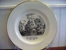 1971 Homer Laughlin First Baptist Church White Plains New York Plate