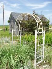 Wrought Iron Dome Arbor Garden Accent Backyard Decor