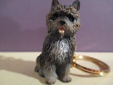 Cairn Terrier Brindle ~ Key Chain ~ Great Gift Item