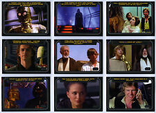 Topps Star Wars Galactic Files 2 - Classic Lines 10 Card Chase Set