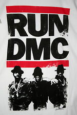 Retro Run Dmc Hip Hop 2010 T-Shirt New Size M 100% Cotton Live Nation