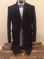 NWT RALPH LAUREN POLO Mens Made in Italy Wool Top coat Large/Medium Retail $1295
