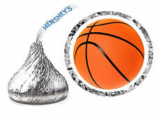 108 BASKETBALL BIRTHDAY PARTY FAVORS HERSHEY KISS LABELS