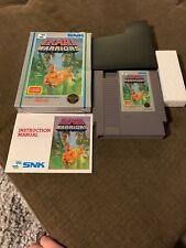 Nintendo Nes Game Ikari Warriors Complete In Box CIB