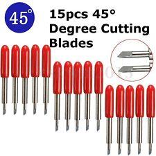 15PZ 45° Lame Tungsteno Acciaio Per Roland Cutting Plotter Vinile Cutter Blade