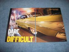 """1957 Chevy Bel Air Street Machine Article """"Dare to Be Difficult""""  392 Hemi"""
