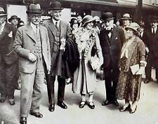 1932 Vintage Photo London Victoria station Ramsay Macdonald Sir John  Lady Simon