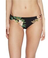 $78Isabella Rose NEW Black Womens Size Medium M Bikini Bottom Swimwear P136 Kk