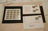 USPS US Indianapolis 500 First Day of Issue Collection w/a pane of 20 stamps
