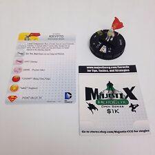 Heroclix Superman / Wonder Woman set Krypto #050 Super Rare figure w/card!