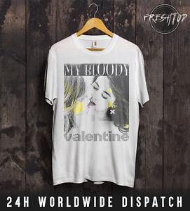 My Bloody Valentine T Shirt Girls Kissing Love Lipstick