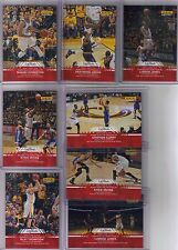 15) 2016 Panini Instant NBA Finals James Irving Curry Thompson Set Only 42 Poss
