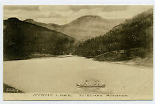 MT Montana Bozeman Mystic Lake Posted 1909 Albertype?