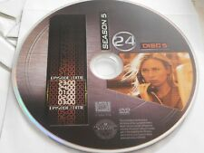24 Fifth Season 5 Disc 5 DVD Disc Only 48-182
