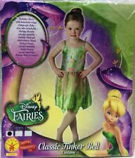 CARNEVALE HALLOWEEN TRILLY FAIRIES TINKER BELL DISNEY TAGLIA 3/4 ANNI ORIGINALE