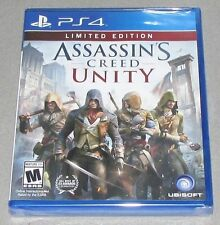 Assassin's Creed: Unity for Playstation 4 Brand New! Factory Sealed!