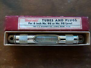 Starrett 6 Inch 96 98 Level - Precision Tool - In Box