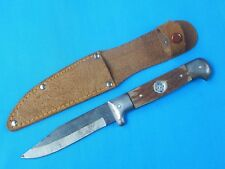 Vintage Old Japanese Japan Made Boot Hunting Knife w/ Sheath Compass