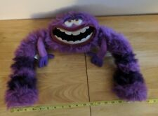 Disney Monsters Inc University Art the Purple Monster, Long Legs, Furry