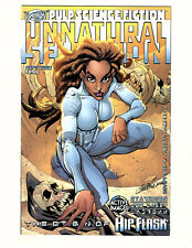 Hip Flask: Unnatural Selection #1 (2002, Active Images) VF/NM Campbell Variant