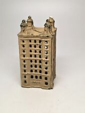 Vintage Cast Iron Bank - Building with Steeples