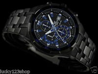 EFR-539BK-1A2 Casio Edifice Men's Watches Analog Steel Band New