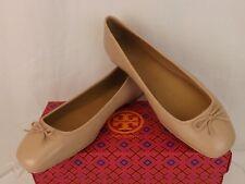 9314891acd Tory Burch Goan Sand Leather Laila 2 Bow Driver Gold Reva Ballet Flats 7