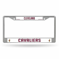 Cleveland Cavaliers NBA Chrome Metal License Plate Frame
