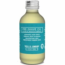 The B.I.G. Company Premium Pre-Shave Oil - 2oz - For The Smoothest Shave Ever