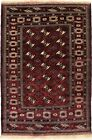 Geometric Tribal Design Wool Hand Knotted 5X7 Oriental Area Rug Farmhouse Carpet