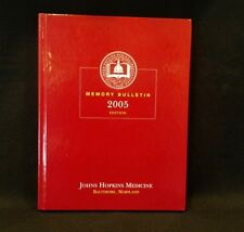 John Hopkins Medicine: Memory Bulletin 2005 Edition 2004 by Peter Rab 193308720X