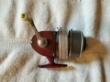 Vintage Rare South Bend Spin Cast #1209 Fishing Reel Maroon Colored Works