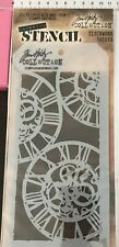 Tim Holtz Collection Layering Stencil Set 1pc 'Clockwork' THS013