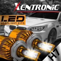 XENTRONIC LED HID Headlight kit H7 White for Mercedes-Benz GLK250 2013-2015