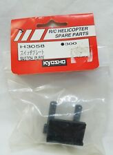 Kyosho RC Helicopter Switch Plate H3058
