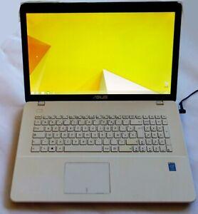 Ordinateur portableASUS X751MD-TY020H Blanc 17.3p GFORCE 820M + housse + souris