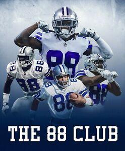 CeeDee Lamb and Michael Irvin Dallas Cowboys 88 Club photo - select size