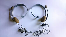 AURICULARES OFICIALES (AURICULAR + MICROFONO) HEADSET MICROSOFT XBOX 360 PAL