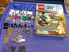 LEGO City 2011  Brickmaster Book Makes 9 Exclusive City Models Book Lego Car