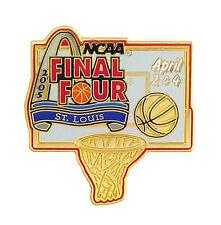 2005 NCAA St Louis Final Four Golden Hoop & Ball Pin - North Carolina Tar Heels