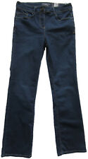 New Ladies Marks & Spencer Blue Sculpt & Lift Slimboot Jeans Size 18 Long DEFECT