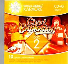 cd  karaoke CD-G robbie williams feeder corrs maroon 5 britney spears busted
