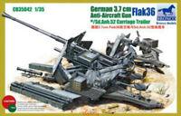 Bronco 1/35 35042 3.7cm Flak 36 Anti-Aircraft Gun Hot