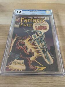 Fantastic Four 55 CGC 5.0 OW/WHITE