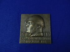 Italian Italy Wwii Ww2 Plaque Table Medal